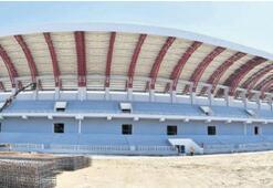 İzmir'in yeni stadı bitiyor