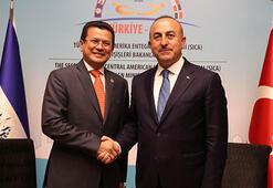 Çavuşoğlundan Orta Amerika diplomasisi
