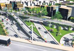 Manisa'da trafik, bu kavşakla rahatlayacak