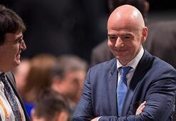 FIFAnın yeni başkanı belli oldu