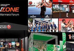 Euroleague Final Four Fan Zone Marmara Forumda kuruluyor