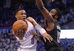 Thunder, Rocketsı yenerek serideki ilk galibiyetini aldı