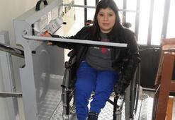 Cumhurbaşkanı Erdoğan engelli rekortmene asansör desteği