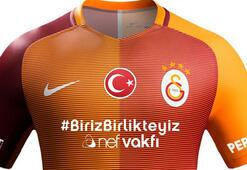 Galatasarayın derbi formasında hashtag sürprizi