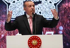 Cumhurbaşkanı Erdoğan: Zalimlere karşı sesimizi yükselteceğiz
