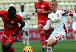 Medicana Sivasspor-Antalyaspor: 0-0
