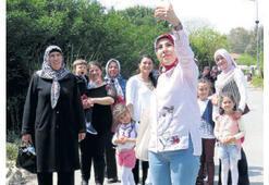 15 bin kadın İzmir'i gezdi