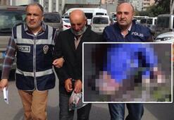 Kan donduran cinayet Zevk için falçata ile kestim