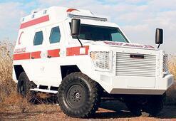 Zırhlı ambulansgörücüye çıkıyor