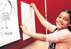 Konak'ta Ata'larına karikatür çizdiler