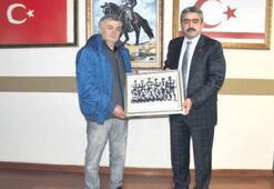 Başkan Alıcık'a yarım asırlık hediye