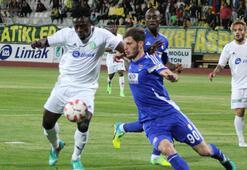 Şanlıurfaspor-Büyükşehir Gaziantepspor: 0-0