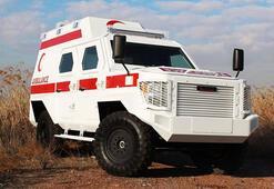 Zırhlı ambulanslar geliyor