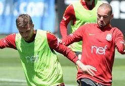 Galatasarayda Bursaspor maçı hazırlıkları sürüyor