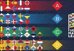 UEFA Uluslar Ligi nedir UEFA Uluslar Liginde Türkiyenin rakipleri belli oldu