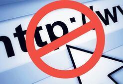 O sitelere erişimi  engelleyemiyoruz
