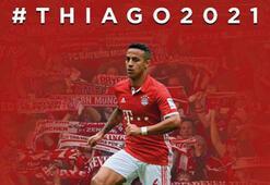 Bayern Münih, Alcantaranın sözleşmesini 2021e kadar uzattı