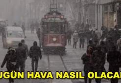 Meteorolojiden hava durumu açıklaması İstanbulda...