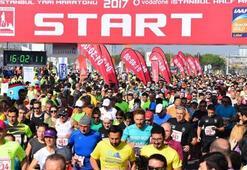 Vodafone 12. İstanbul Yarı Maratonu koşuldu