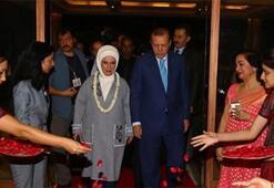 Cumhurbaşkanı Erdoğan, Hindistanda