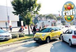 Agora AVM önünde her gün kaza oluyor