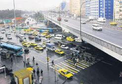 Mecidiyeköy'de yeni trafik düzeni