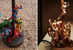 Oyuncaklardan kendin yap masa lambası