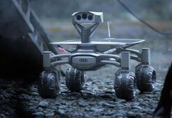 Audinin uzay robotu Lunar Quattro, Alien dünyasında