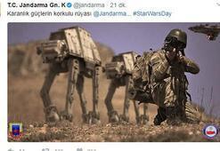 Jandarma Genel Komutanlığından Star Wars göndermesi
