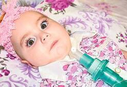 Zeynep bebek  ilacına kavuşacak