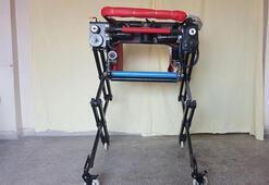 Robotik sandalye üretti