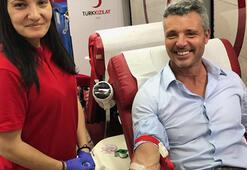 Sadettin Sarandan kan bağışı
