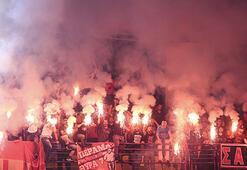 Olympiakosa seyircisiz oynama cezası