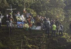 Chapecoense oyuncuları kaza bölgesinde