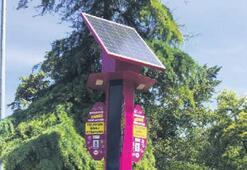 Manisa'nın yedi noktasına güneş enerjili şarj istasyonu