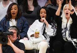 Rihannanın heyecanlı dakikaları
