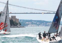 Boğaz'da Bosphorus Cup heyecanı yaşanıyor