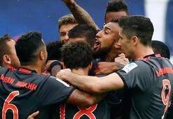 Bayern Münih, Leipzig karşısında tarihi bir geri dönüşe imza attı