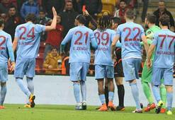 Kırmızı kartlarda Trabzon zirvede