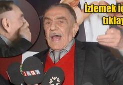 Aydemir Akbaşın takma dişleri düştü