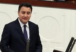 Ali Babacan aylar sonra Mecliste konuştu