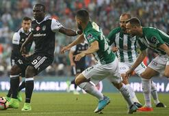 Bursaspor - Beşiktaş: 0-2 / İşte maçın özeti