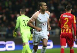 Kayserispor - Galatasaray maç özeti: 1-3