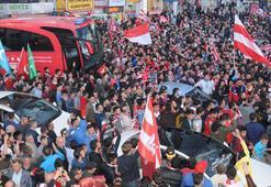 Sivasspora coşkulu karşılama