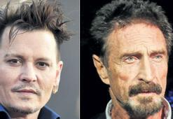 Antivirüs mucidi Johnny Depp olacak
