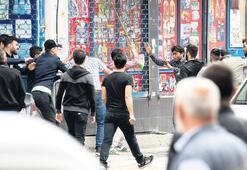 Sultangazi'de laf atma kavgası