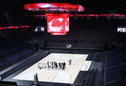 Sinan Erdem Spor Salonu büyük organizasyona hazırlanıyor