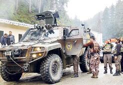 Devriye gezen  askerlere saldırı