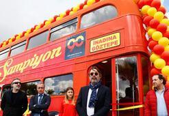 Göztepenin efsane otobüsü mağaza oldu