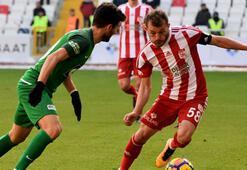 Demir Grup Sivasspor-Teleset Mobilya Akhisarspor: 1-1